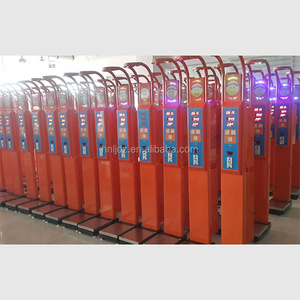 Coin vending human body weighing scale automatic height weight bmi machine