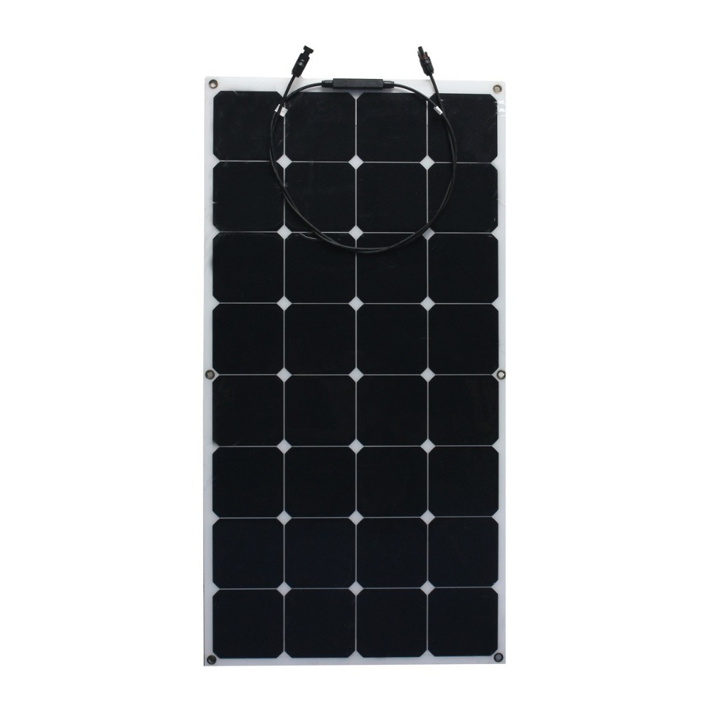 Semi flexible solar panels 100w solar cell price