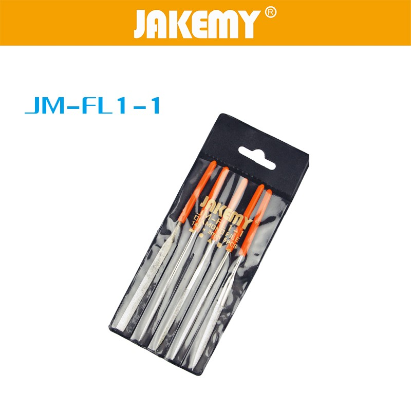 5PCS IN 1 Plastic handle diamond file hand tools for sale