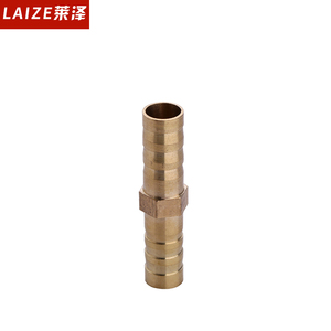 brass material straight tee and cross way pipe fittings
