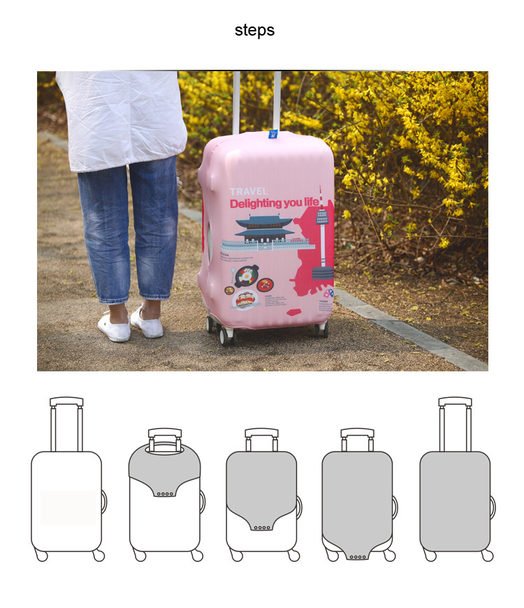 Luggage Suitcase Covers Protection Trolley Bag Cover