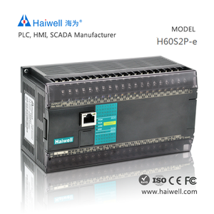 New design Haiwell H60S2P-e PLC controller automation for PLC car alarm system with Ethernet port software easy to use