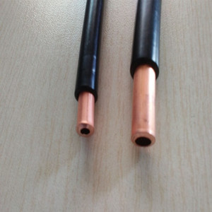 Covering plastic copper tube/Plastic coated/T2 insulation PVC coated copper tube