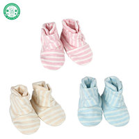New Design Colored Cotton Newborn Baby Booties Baby Shoes