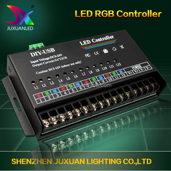 Factory Direct Price Led Dmx Controller 2016 Led Edit Software Programmable  Pixel Led Light Controller With Ce&rohs - Buy Led Dmx Controller,Rohs Led