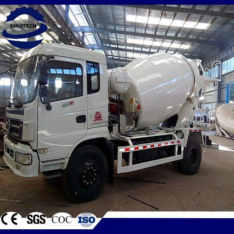 China 4 m3 concrete mixer truck with competitive price