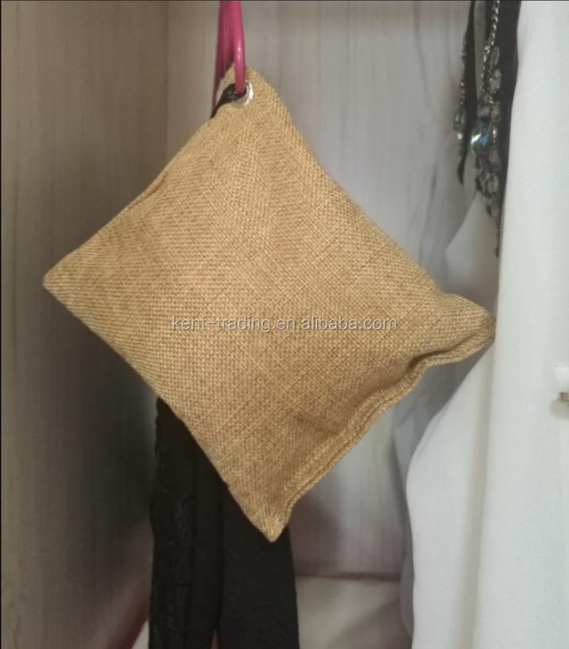 Bamboo Charcoal Pillow Air Freshener Deodorant Bag