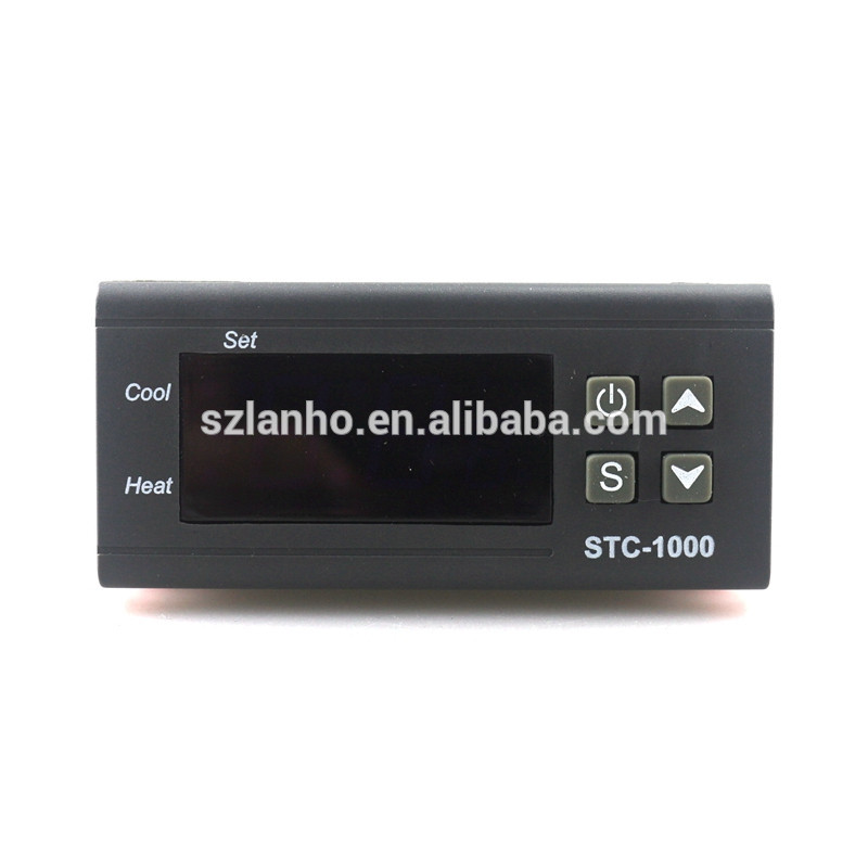 new arrival Two Relay Output LCD Digital Temperature Controller with 1m Sensor 110~220VAC 10A Thermostat