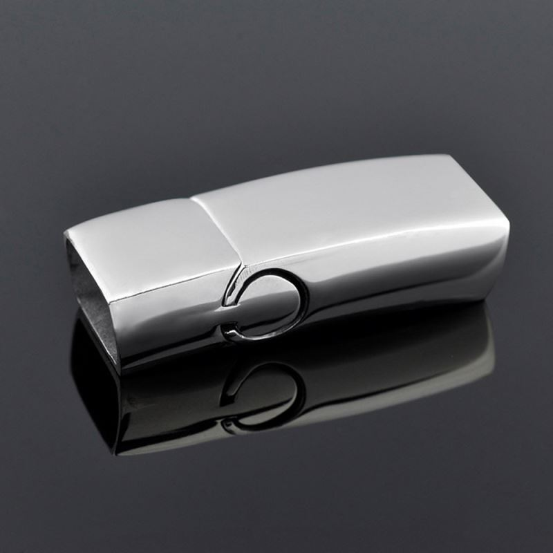 Jewelry Wholesale Stainless Steel Magnetic Clasps For Leather