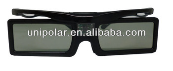 Newest active shutter 3d glasses, TV glasses, LED TV 3d glasses