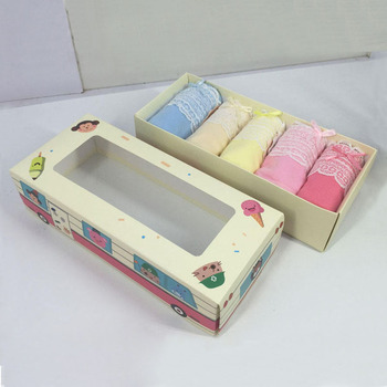 Impresi n personalizada flate caja de papel toalla ropa for Packaging ropa interior