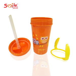 Amazon Eco-Friendly BPA free Baby sippy Cup lids /Kids training cup /Baby Drinking Training Cup