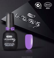 FREJA brand gel polish 15ml matte black bottle 120 colors uv nail gel polish for nail art