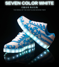 Best Led Shoes For Men Fashion Light Up Casual Shoes For Adults 7 Colors Outdoor Glowing Women Size35-44 chaussure lumineuse