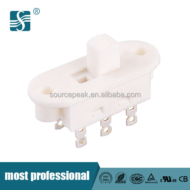 AC125V/250V IP40 China Manufacturer 3-ways Welding Toggle Switch Slide Switch For Household Appliances