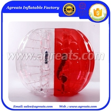 Popular inflatable knocker ball,human sized hamster ball for football tpu body zorb ball with discount GB7075