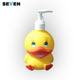 Animal Shape Cat Duck Fish Funny Childproof Plastic Soap Dispenser For Kids