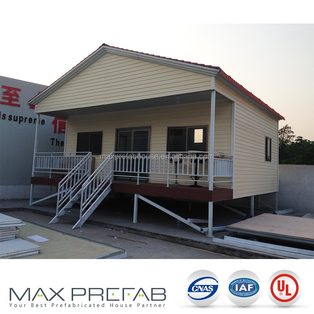 KH0708 made in china luxurious 50mm EPS sandwich panel 0.376mm ppgi kit homes florida