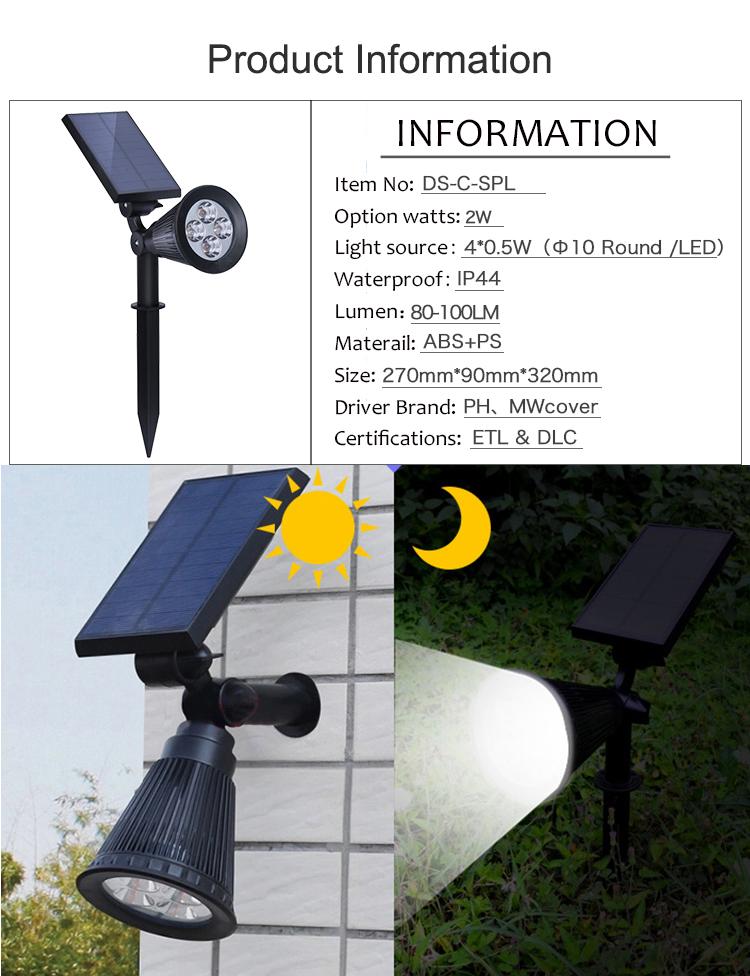 HongZhun garden lighting best price led solar chip factory direct price ABS decorative lawn lamp