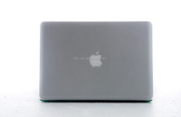 Clear Rubberized-see-through Hard Case Skin For Macbook Pro Aluminum Unibody 13 Inches