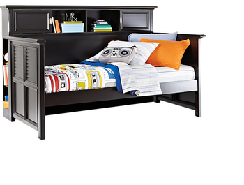 Twin Size Kids Bookcase Storage Daybed