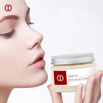 Beauty cosmetics professional manufacturer OEM ODM high effective acne treatment booster oil free face cream