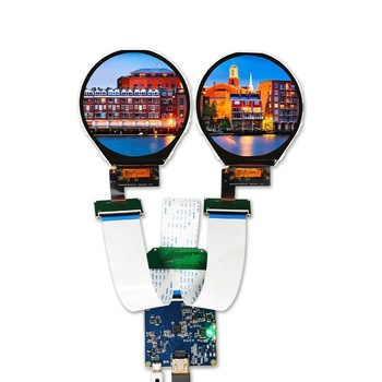 with hdmi to mipi controller board touch available 39 pin small tft circular screen 3.4 inch 800*800 round lcd display