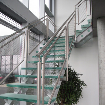 Charming Real 316 Stainless Steel Stair Safety Netting