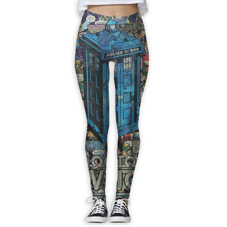 616688b130b3f1 Get Quotations · Pphy Stretch Tardis Yoga Pants For Women Jogging Workout  Pants For Women Running Pants Women