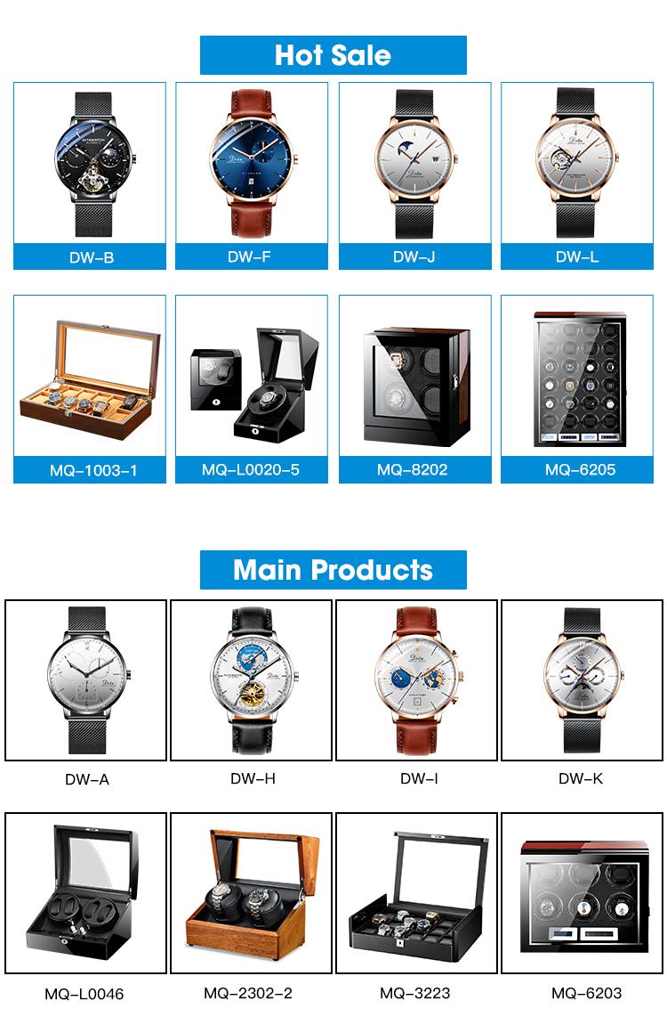 2018 china new custom watch logo 3atm waterproof japan movt quartz men watch stainless steel