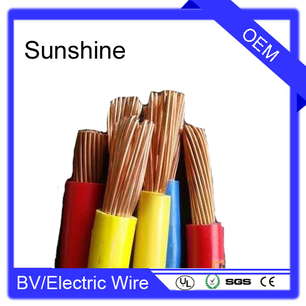 Yellow green building electric wire color code