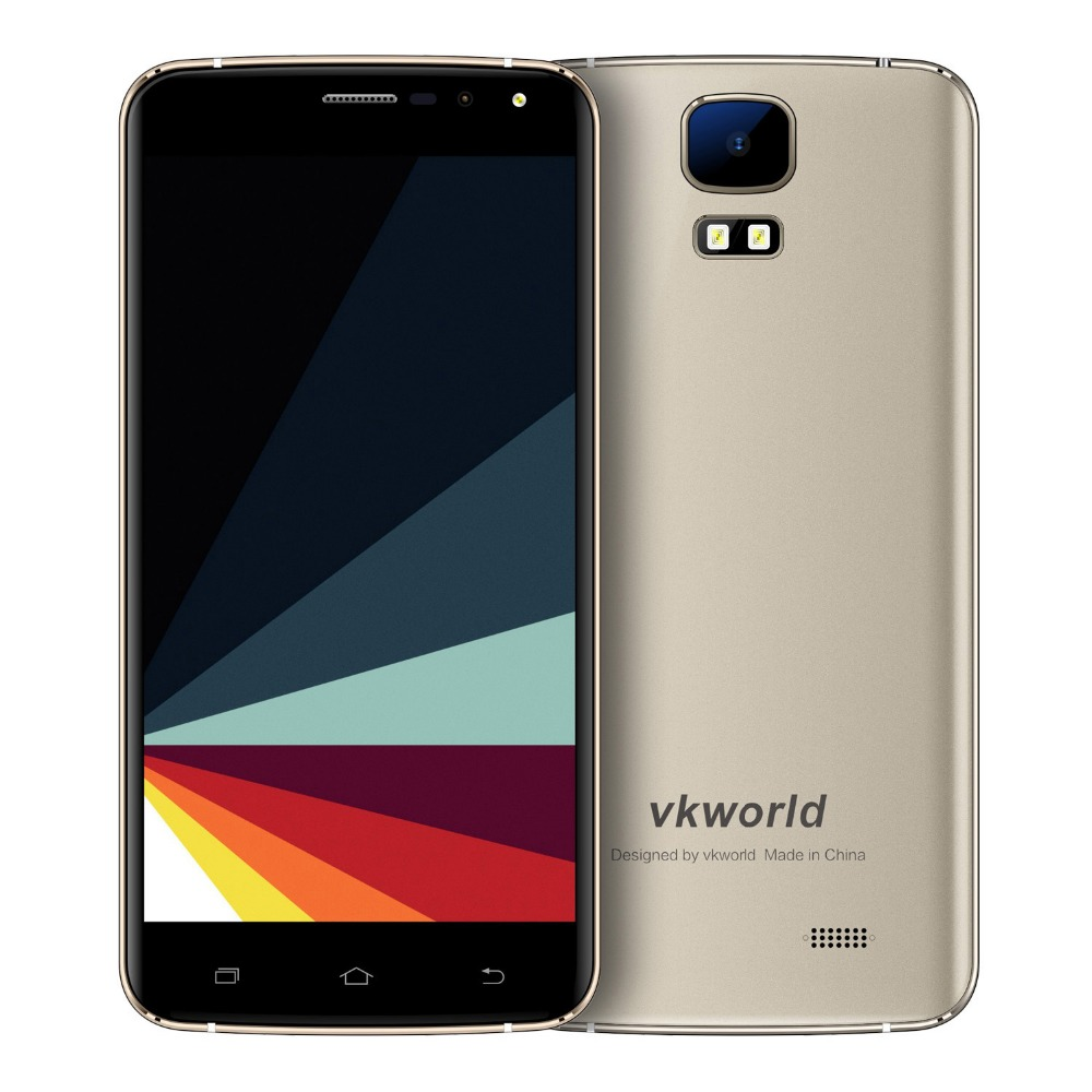 5.5-inch 3G Cell Phone Direct from China VKWORLD S3 Fingerprint Identification, Android 7.0 MTK6580A Quad-core, 1+8GB