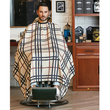 Nieuwe Fashional Waterdicht Salon <span class=keywords><strong>Cape</strong></span> Barber Schort Polyester streep <span class=keywords><strong>Kapper</strong></span> Capes