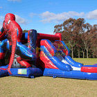 Kids Outdoor Custom Castle Inflatable Bouncer Slide Jumpers Spiderman Bounce House Kids Inflatable Bounce House