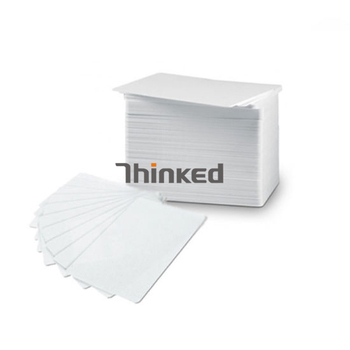 Factory price cr80 30mil 0.76mm thickness credit card size plain white Blank glossy pvc plastic inkjet id card