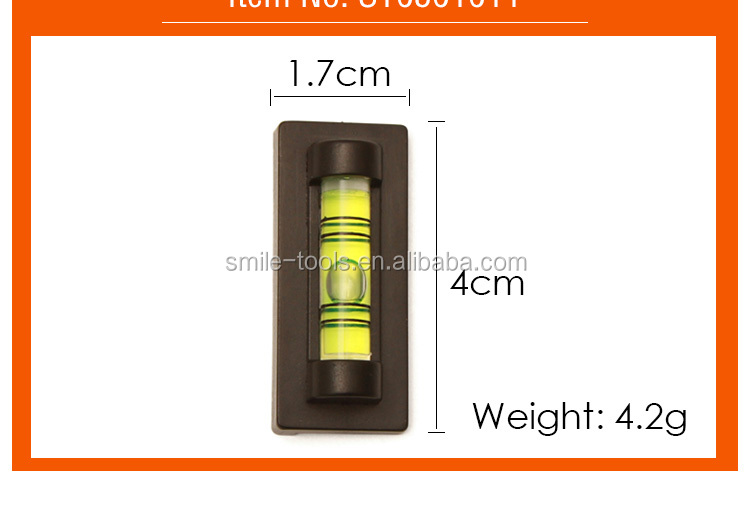 Cylindrical Bubble Levels Plastic Tube Vials Mini Spirit Level Mini Bubble Level Tool For Po Frame Wall Hanging