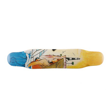 7 Ply'S <span class=keywords><strong>100%</strong></span> <span class=keywords><strong>Kanadischen</strong></span> <span class=keywords><strong>Ahorn</strong></span> Material <span class=keywords><strong>Blank</strong></span> Skateboard Decks OEM produkt