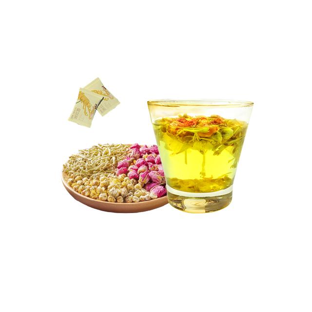 Nourish Skin Beauty Chrysanthemum Honeysuckle Healthy Herbal Tea