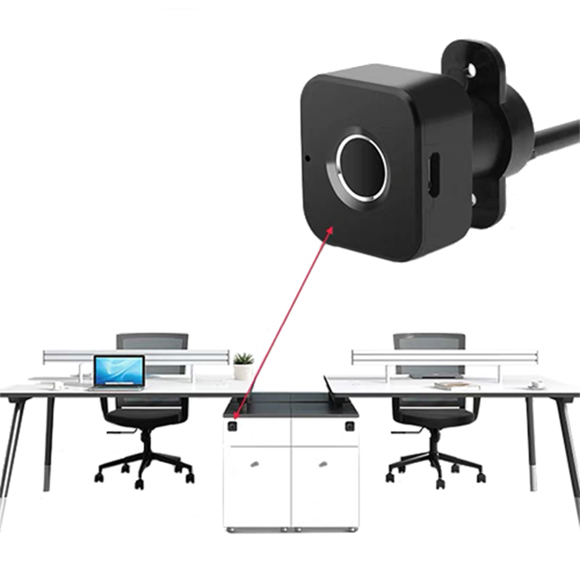 Multi Bluetooth Wifi Office Desk File Small Electronic Biometric Fingerprint Cabinet Drawer Lock