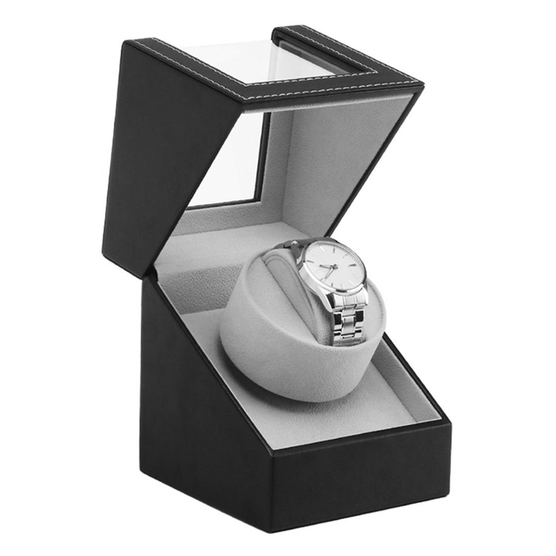 Storage Organizer Display Casket Motor Shaker Holder Automatic Mechanical Watch Winder Box Winding Case