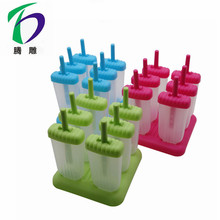 Bpa Gratis Plastic Popsicle <span class=keywords><strong>Ice</strong></span> Pop Mold Ijs Popsicle Schimmel