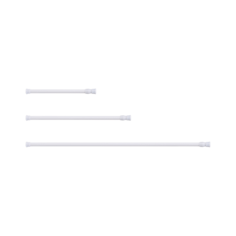 SHIMOYAMA Cupboard Bars Spring Tension Adjustable Extendable Punch-free Telescopic Rod