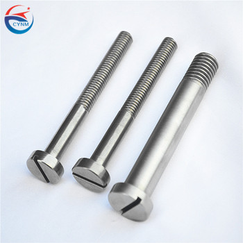 glass production use Alkali washing Pure Molybdenum screw