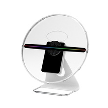 Nieuwe outdoor mini 30cm A12 TFT wifi 256 led 3D <span class=keywords><strong>holografische</strong></span> <span class=keywords><strong>display</strong></span> fan projector