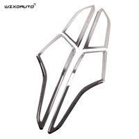 High Quality Overseas Verna 2017 chrome accessories Rear Lamp Cover Tail Light Trim Body Kit Car Exterior Accessory