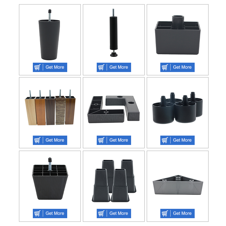 Hot Sale Industrial Sofa Legs Replacement New Design Plastic Sofa Legs On Sale