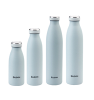 1L water bottle stainless steel hot and cold water bottle