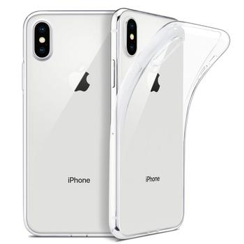 "Free Shipping For iPhone 11pro Case, WEFOR Slim Clear transparent Soft TPU Cover Support for Apple 5.8"" for iphone xsmax"