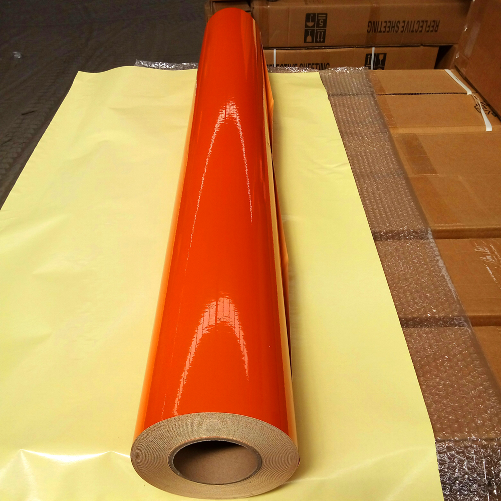 1.24*45.7M Cheapest Reflective vinyl for Plotter cutting with high grade reflectance