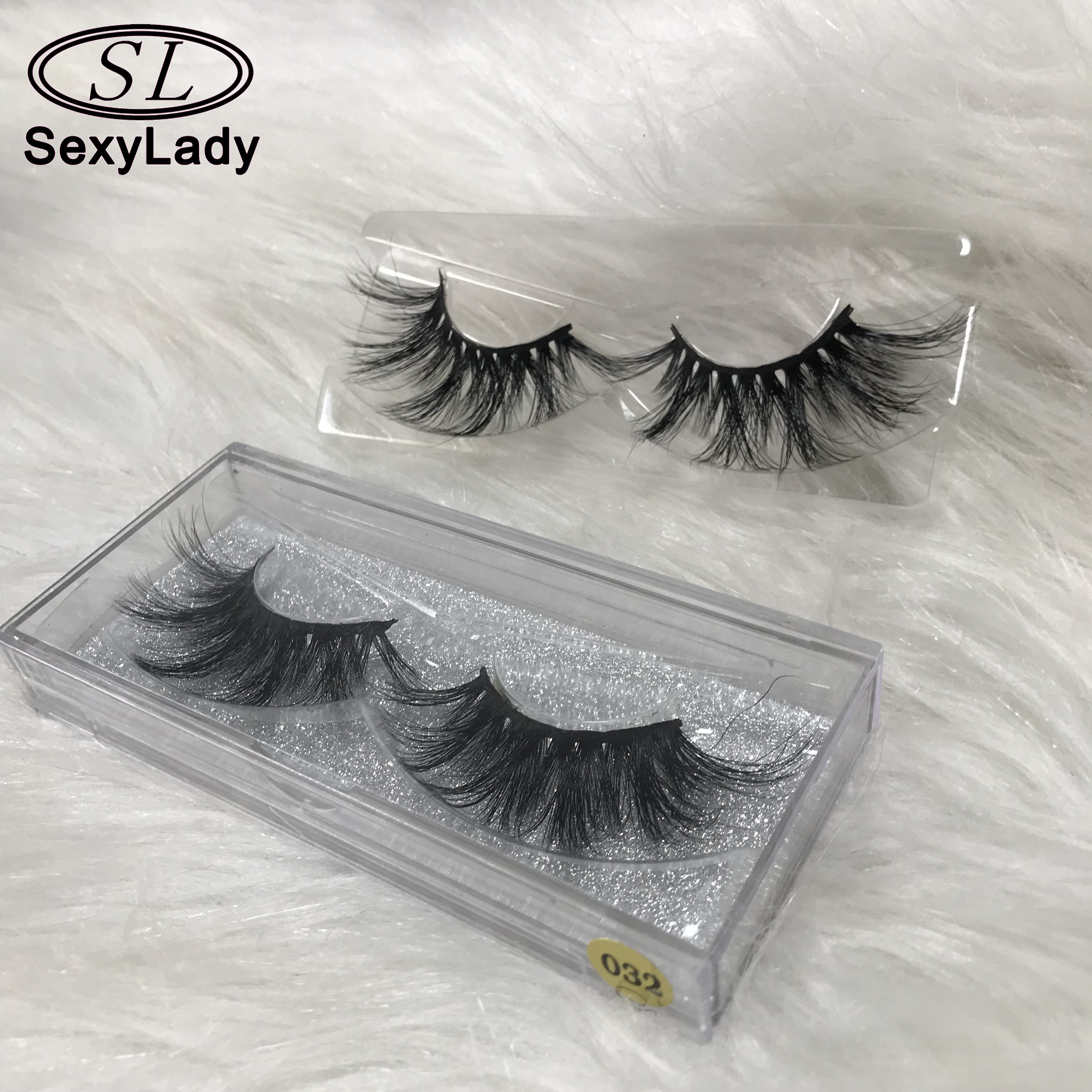Premium mink lashes china gold suppliers wholesale 25 mm 3d mink eyelashes and custom package with private label, Natural black